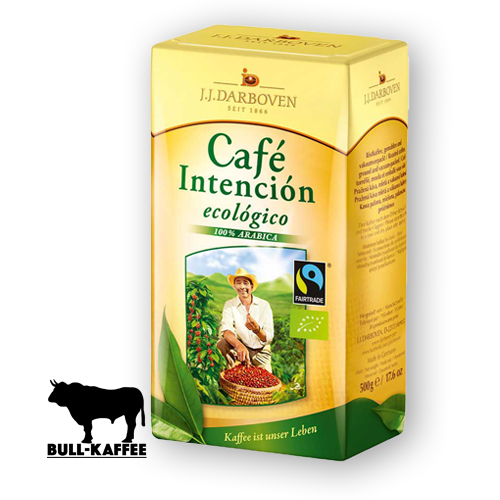 J.J. Darboven Cafe Intencio Ecologico Bio Fairtrade 500g