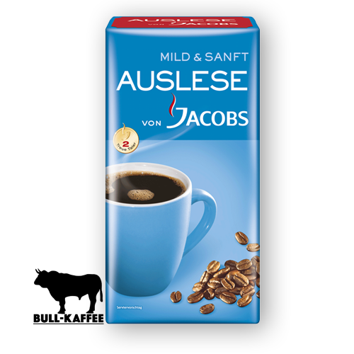 Jacobs Auslese Mild & Sanft 500g