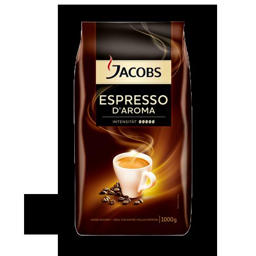 Jacobs Espresso D Aroma ganze Bohne 1kg