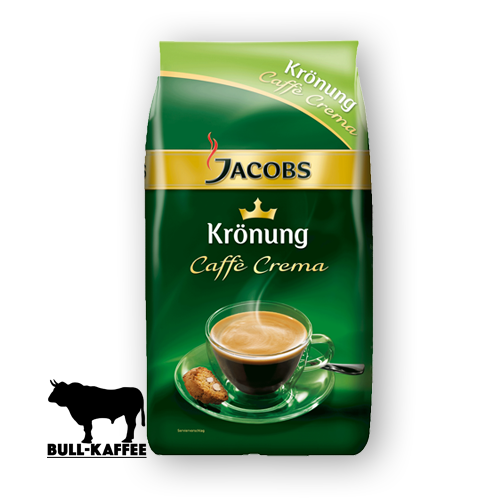 Jacobs Krönung Caffe-Crema ganze Bohne 1kg