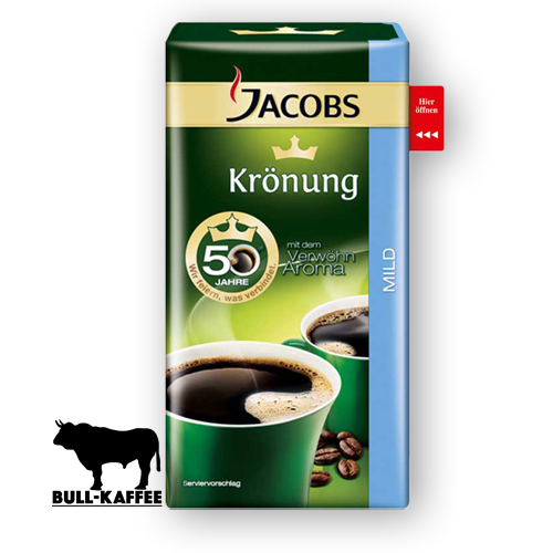 Jacobs Kroenung mild 500g