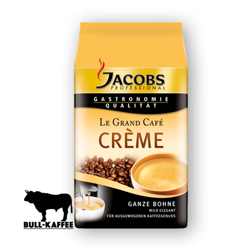 Jacobs Le-Grand-Cafe-Creme ganze Bohne 1kg