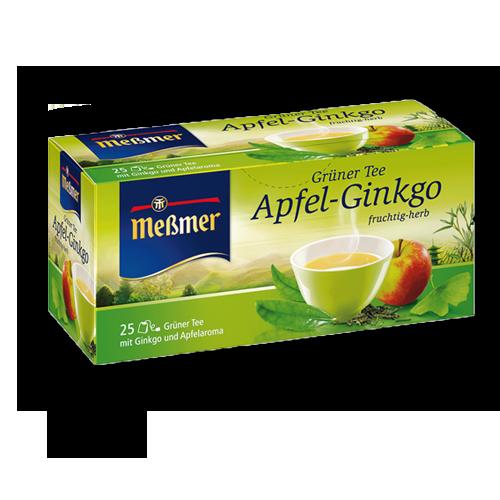 Meßmer Grüner Tee Apfel-Ginkgo 25er