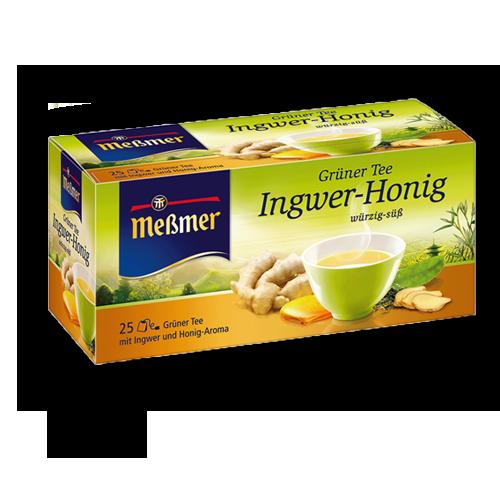 Meßmer Grüner Tee Ingwer Honig 25er