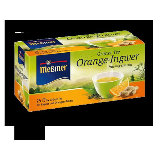 Meßmer Grüner Tee Orange Ingwer 25er