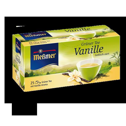 Meßmer Grüner Tee Vanille 25er