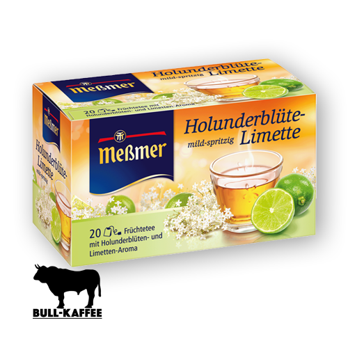 Meßmer Holunderblüte-Limette 20er