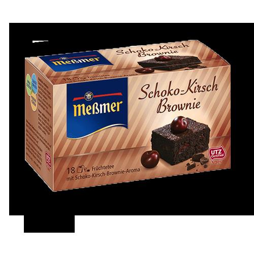 Meßmer Schoko Kirsch Brownie 18er