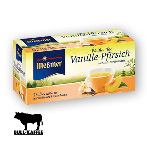 Meßmer Weissertee Vanillepfirsich 25er