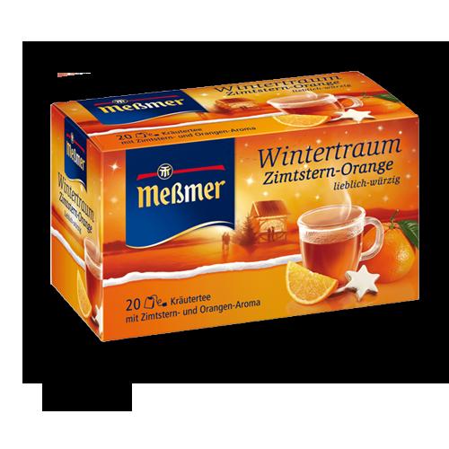 Meßmer Wintertraum Zimtstern-Orange 20er