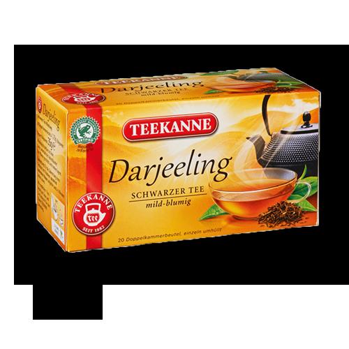 TEEKANNE Schwarzer Tee Darjeeling 20er