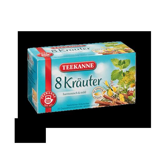 TEEKANNE 8-Kräuter 20er