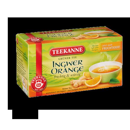 TEEKANNE Grüner Tee Ingwer Orange 20er