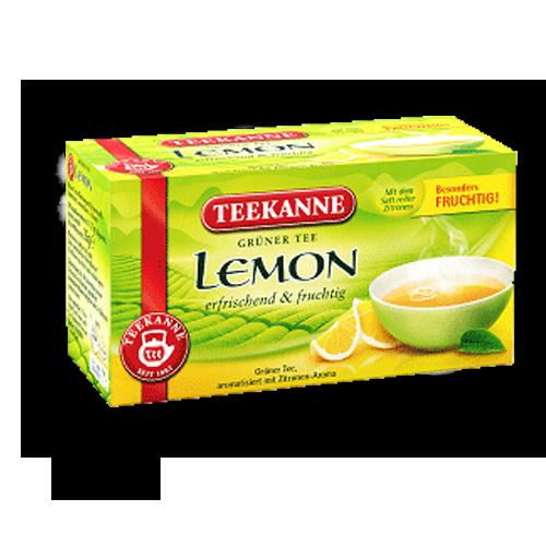 TEEKANNE Grüner Tee Lemon 20er