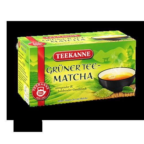 TEEKANNE Grüner Tee Matcha 20er