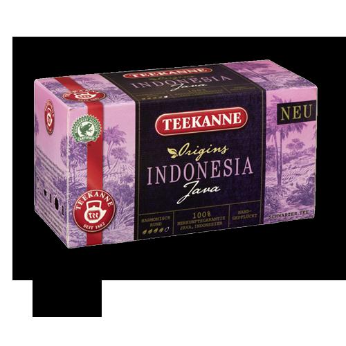 TEEKANNE Indonesia-Java Schwarzer-Tee 20er