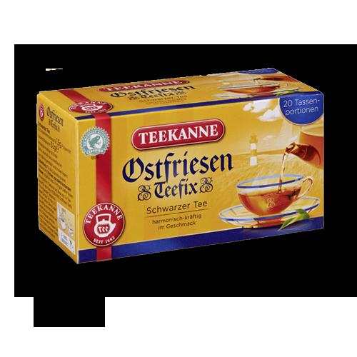 TEEKANNE Ostfriesen Teefix Schwarzer Tee 20er