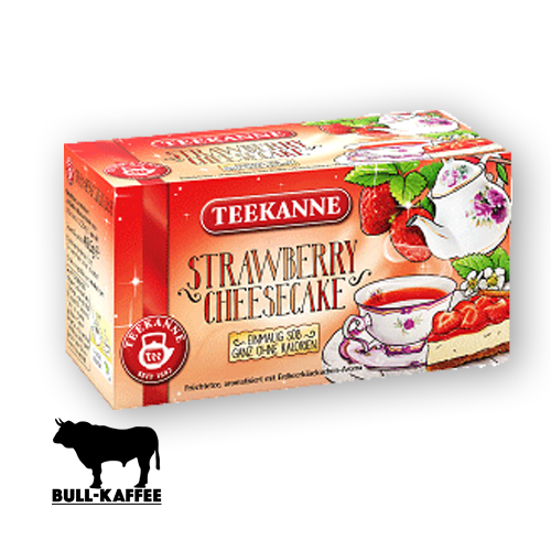 TEEKANNE Strawberry-Cheesecake 18er