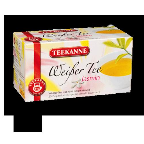TEEKANNE Weißer-Tee Jasmin 20er