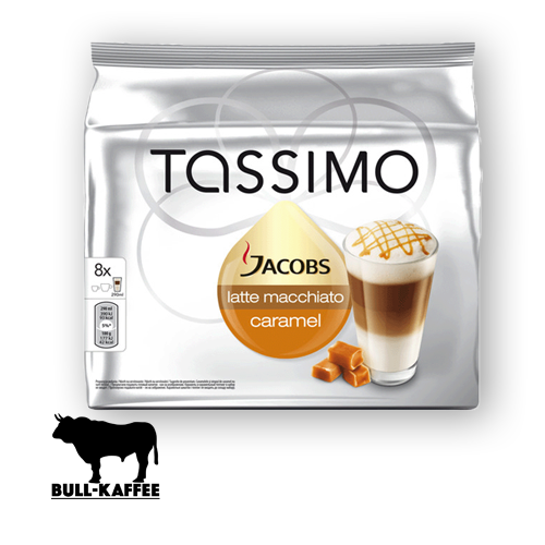 tassimo jacobs latte macchiato caramel 2x8 t discs bull kaffee und tee. Black Bedroom Furniture Sets. Home Design Ideas