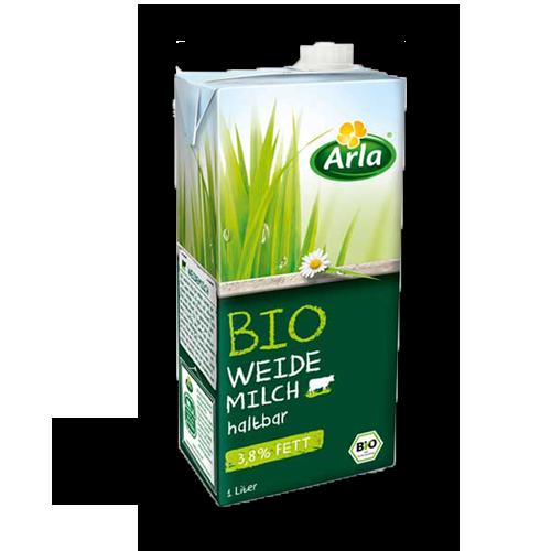 Arla haltbare Bio-Weidemilch 3,8% 1Liter