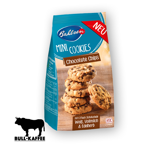 Bahlsen Mini Cookies Chocolate Chips 125g