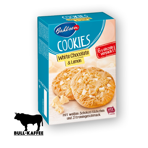 Bahlsen Cookies White Chocolate & Lemon 150g