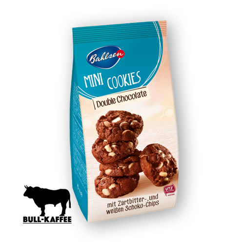 Bahlsen Mini Cookies Double Chocolate 125g