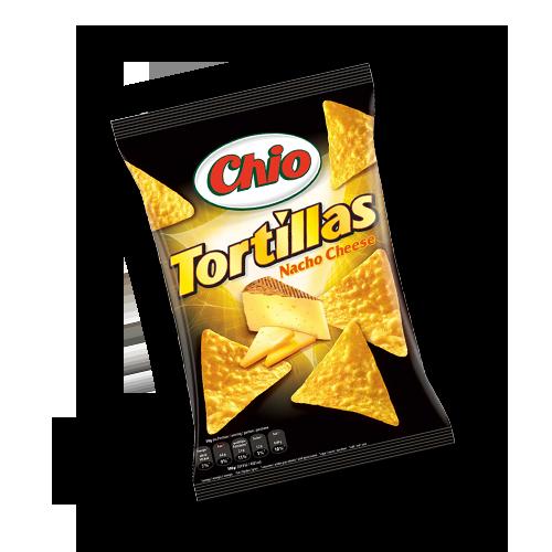 Chio Tortillas - Nacho Cheese 125g