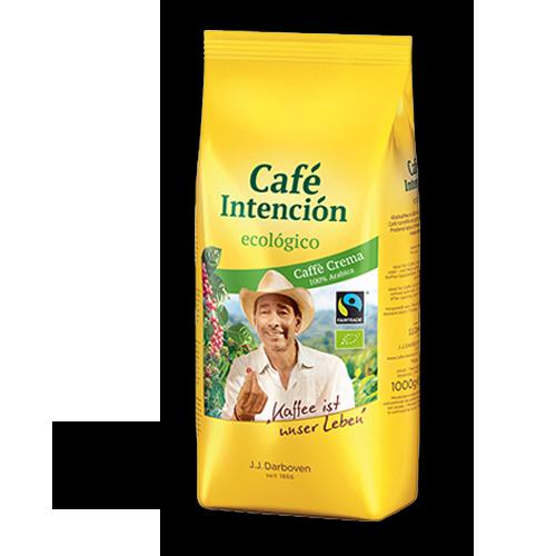 Darboven Cafè Intencio Ecologico Caffe Crema Bio Fairtrade ganze Bohne 1kg