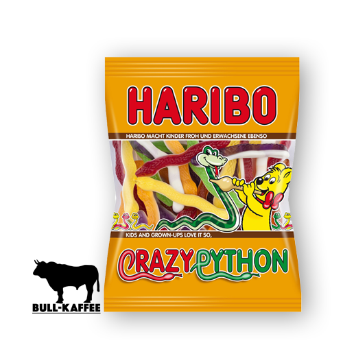 HARIBO Crazy Python 175g