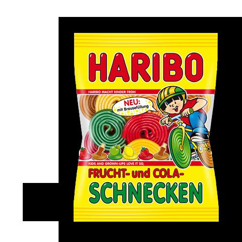 HARIBO Frucht-und Cola-Schnecken 175g