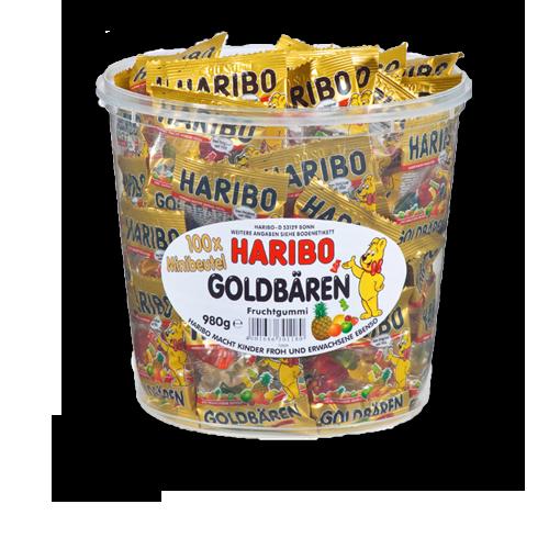 HARIBO Goldbären Minibeutel 980g