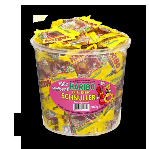 HARIBO Kinder Schnuller Minibeutel 980g