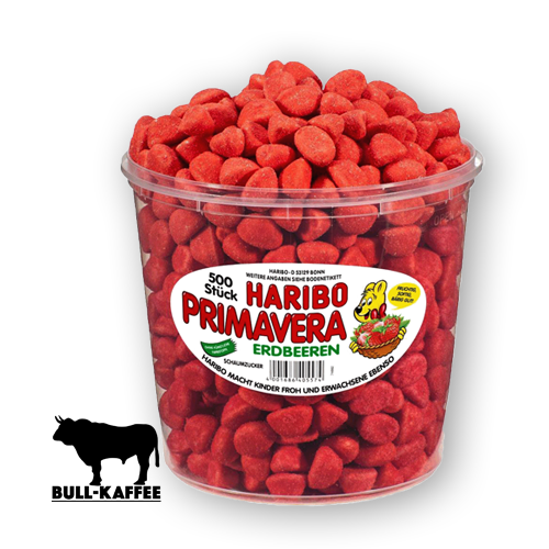 HARIBO Primavera Erdbeer 1050g