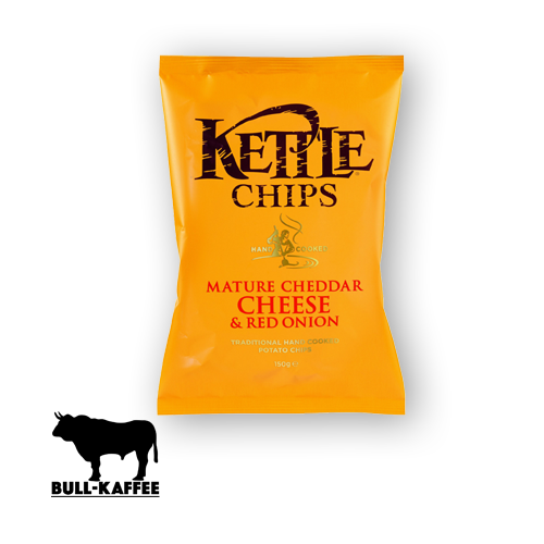 Kettle Chips Mature Cheddar - Cheese & Red Onion 150g