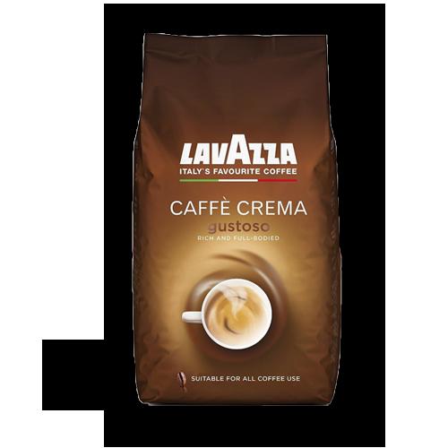 Lavazza Caffe Crema Gustoso ganze Bohne 1kg