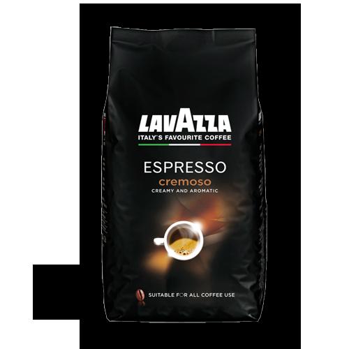 Lavazza Cremoso Espresso ganze Bohne 1kg