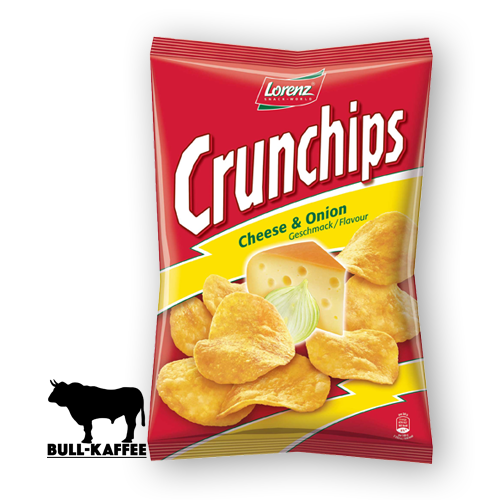 Lorenz Crunchips Cheese & Onion 200g