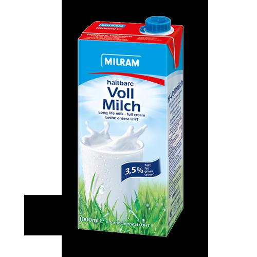 Milram haltbare Vollmilch 3,5% (12x1Liter)