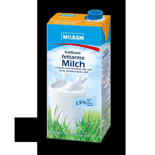Milram haltbare fettarme Milch 1,5% (12x1Liter)