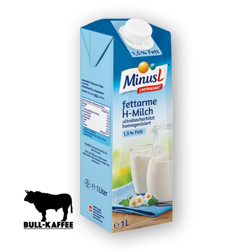 MinusL fettarme H-Milch Laktosefrei 1L