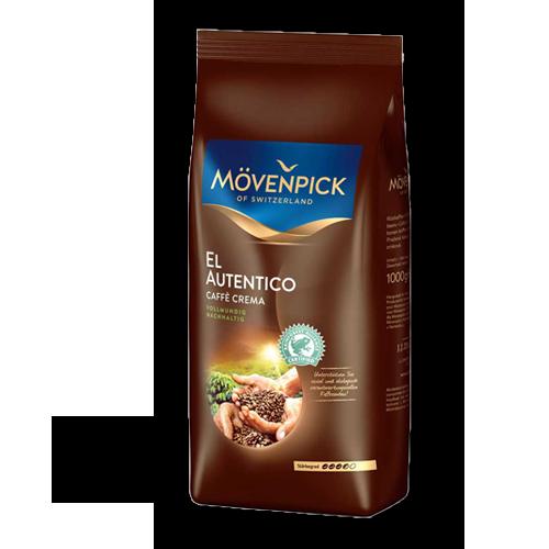Mövenpick El Autentico Caffe Crema ganze Bohne 1kg