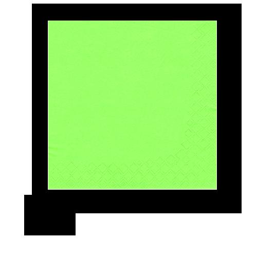 Servietten Apfelgrün