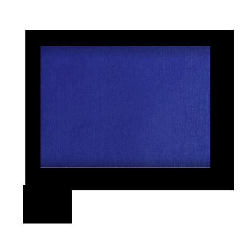 Tischdecke Papstar blau 120x180cm