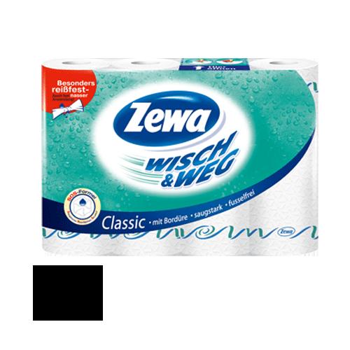 Zewa Wisch und Weg Classic 4 Rollen