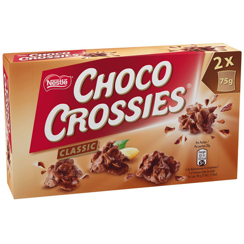 Choco Crossies 150g