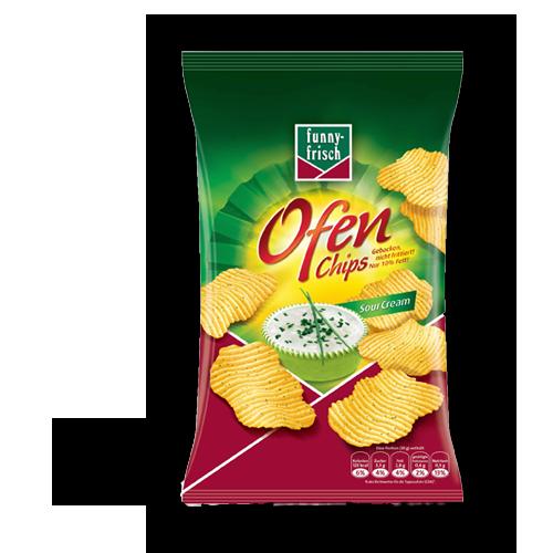 funny-frisch - Ofen Chips - Sour Cream 150g