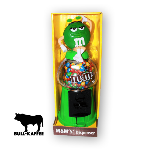 m&m's Spender grün