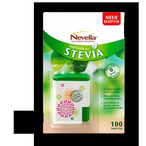 Nevella Stevia Tabletten 100Stk